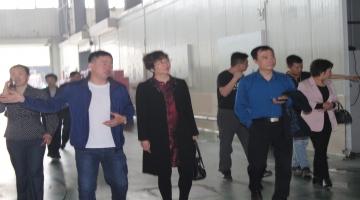 太原市农委会一行考察调研鸿新集团